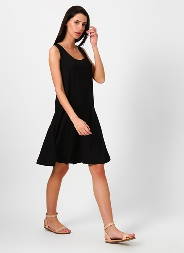 Limon Company Askılı Elbise Siyah